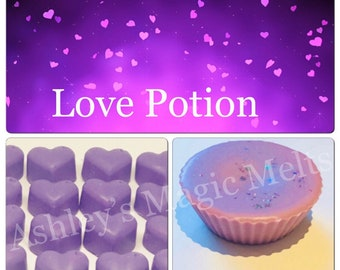 5 love spell perfume soy wax melts, designer perfume dupe melts, highly scented melts, cheap wax melts, scented gifts for her