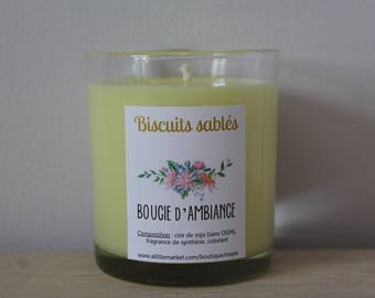Atmosphere at Christmas ►Biscuits sables◄ soy wax candle