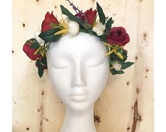 """The """"Eden"""" Flower Crown"""