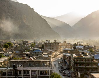Jomsom in the Morning Light