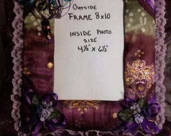 """Fabric covered frame with Asain flare 8""""x10"""" (FREE SHIPPING)"""