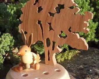 """Solid wood door PENCILS """"Rabbit"""""""