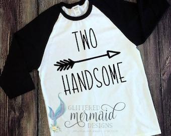 Two Handsome Raglan T-Shirt