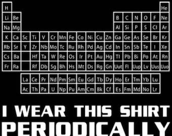 Periodic Table Teacher Shirt