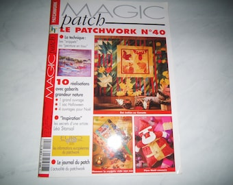 """Book """"The number 40 Patchwork"""""""