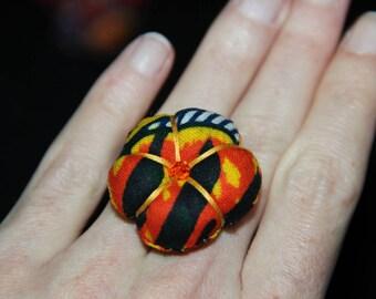 Ring fabric - JACOBINIA Adjustable ring