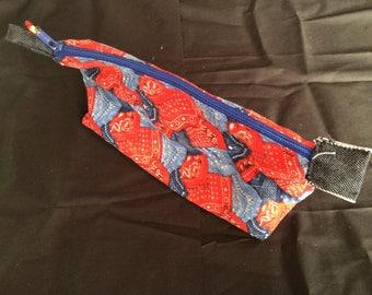 Cowboy Zipper Pouch; Essential Oil/Make Up Bag; Oil Pouch