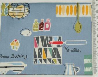 Fabric - Retro Bake 06 - Makower kitchen vintage