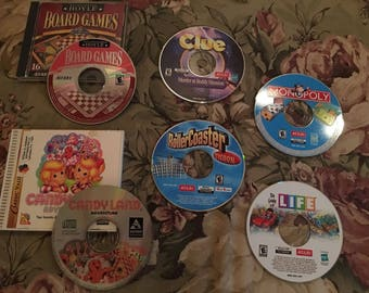 CandyLand, Clue, Life, Monopoly (2003) (Windows 95/98) - VG, disc only *TakaLook