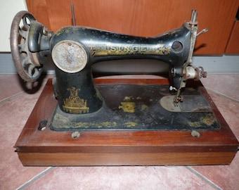 Vintage singer 1930s sewing machine with Sphinx