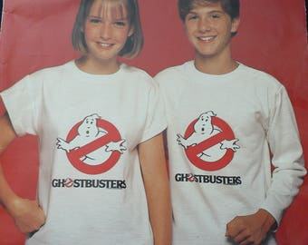 Ghostbusters T-shirt Vintage Pattern for Girls and Boys (chest size 26-32 in/ 66-81 cm)