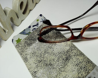 Imitation and cotton glasses case