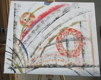 """abstract acrylic painting on canvas """"in every way"""""""