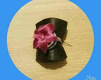 aluminum 2mm pink Adjustable ring