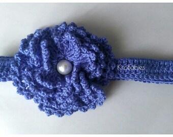 Baby crochet Lily headband