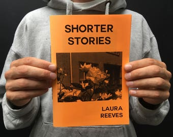 Shorter Stories DIY Hand Stitched Zine by Laura Reeves