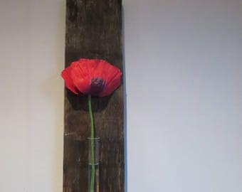 Single stem flower holder
