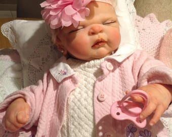 Thank Heaven For Little Girls,Anatomically Correct Reborn Baby Maggie, Sculpted By Cindy Musgrove
