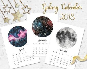 Printable Calendar 2018, 2018 Digital Calendar, 2018 Wall Calendar, Calendar 2018, Calendar 2018, Printable Calendar, Printable Calender