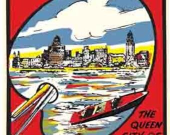 Vintage Style  Toronto Canada   Travel Decal sticker