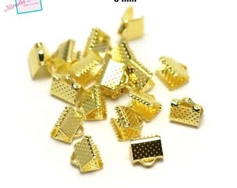 100 caps claw greenhouse 8 mm, Gold Ribbon