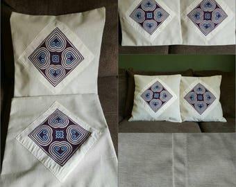 Pillow cover Hmong (handmade)