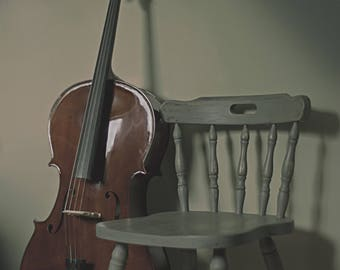 Cello Still Life Fine Art Photography 8x12 Print
