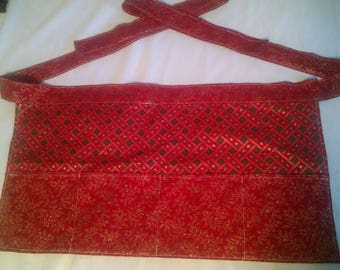 holly-day cotton half apron