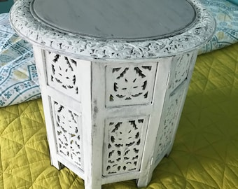 Shabby Chic Side Table or Night Stand