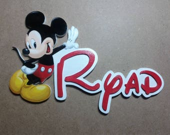 door adult Mickey - first name choice