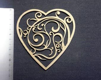 Arabesque 12 cm inside heart