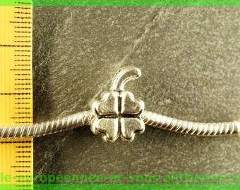 N36 clover European spacer bead for bracelet charms