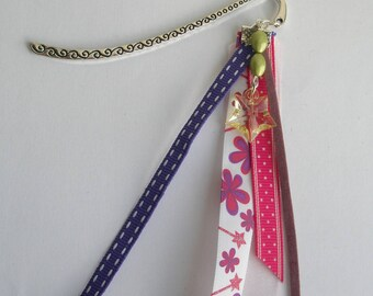 """Bookmark """"Star and magic wand"""" for girl"""