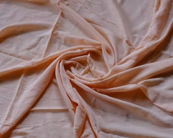 Light pink/orange fabric