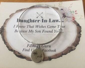 Daughter in law bracelet