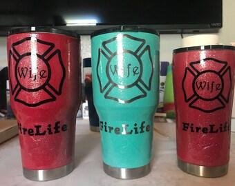 Ozark Fire Wife Life Tumbler