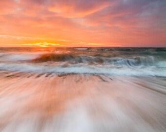 "Original ""Wave Impression"" - photo, ocean, ocean photography, wave"