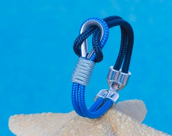 Nautical bracelet for men