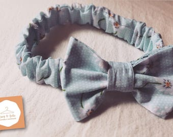 Lucy and Lola Elasticated Bow Headband