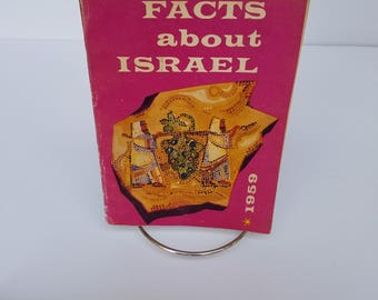 Facts about Israel book from 1959