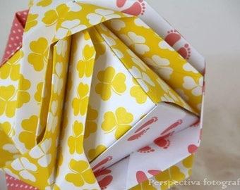 Recicled Mandalas origami
