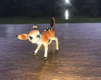 Very Sweet Vintage 1960's Fawn/Deer Figurine
