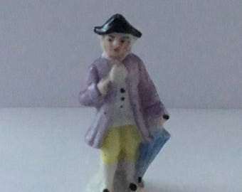 Small vintage ornamental ceramic figurine