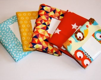 SET OF 5 COUPONS 25X25CM GIRL OR BOY