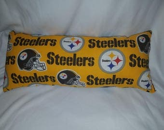 Pittsburgh Steelers Fluffy Rectangle Pillow