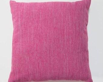 Cushion 32 x 32 pink fuchsia
