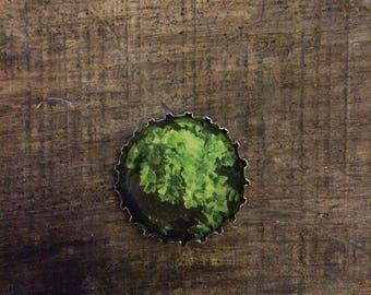 Fern leaf gift magnet