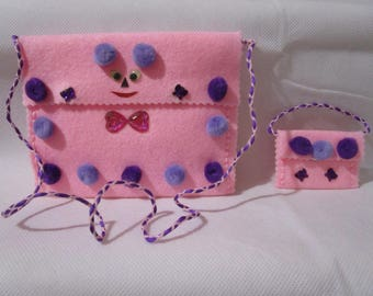 Bag for little girl and her doll
