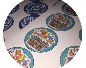 Logo Stickers (24 per sheet)