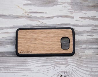 Wooden cover Samsung